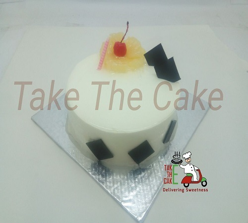 Hawain Smooth Cream Cakes In Coimbatore