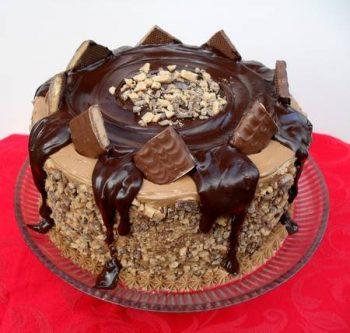 choco crunch cakes