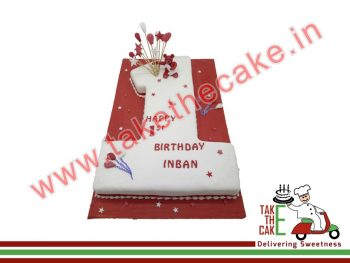 no1-shape-cake-3