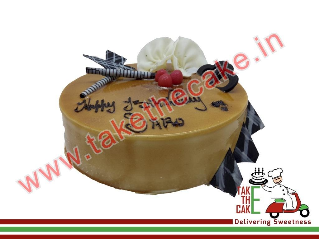Caramel Glaze Cakes Order Online In Coimbatore