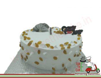 Vanilla Raisin Cake