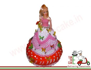barbee Cake Red