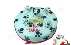 Doggy Theme Cake