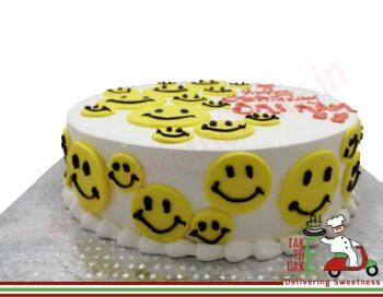 Lots Smile Cake