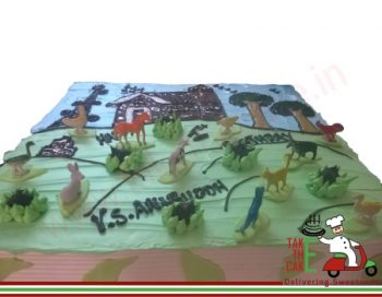 Pet Theme Cake